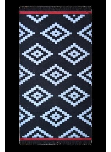 Giz Home Mina Kilim 63X120 Cm Siyah Motif Siyah